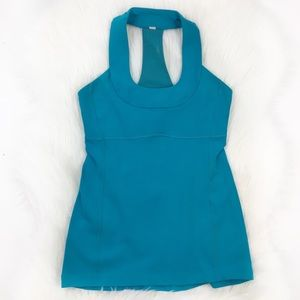 Lululemon Blue Scoop Me Up Tank Top